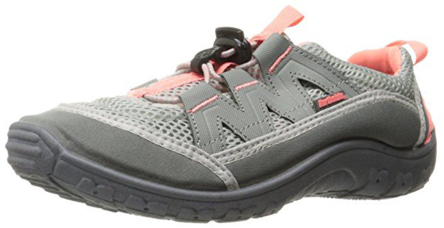 Northside Women's Brille II Summer Water Shoe, Gray/Coral, 7 B(M) US a Waterproof Wet Dry Bag