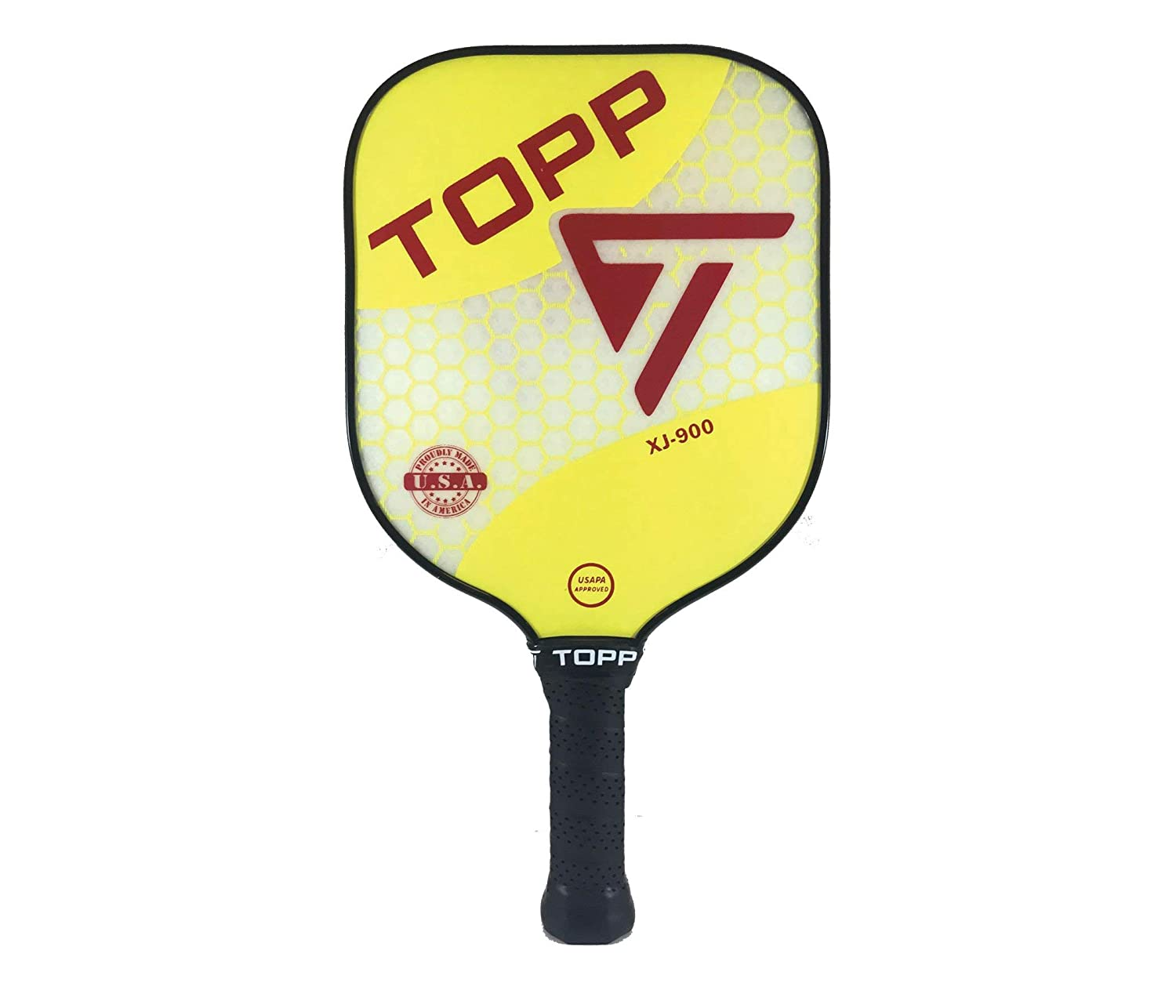 Topp PickleballパドルXJ 900 Topp Composite B07DB34ZCM イエロー/レッド 900 イエロー Composite/レッド, ONLY ONE STYLE:a8a15044 --- lembahbougenville.com