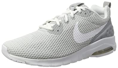 detailed look 1be5d a4844 Nike Men s Air Max Motion LW SE Wolf Grey White Running Shoe 9 Men US