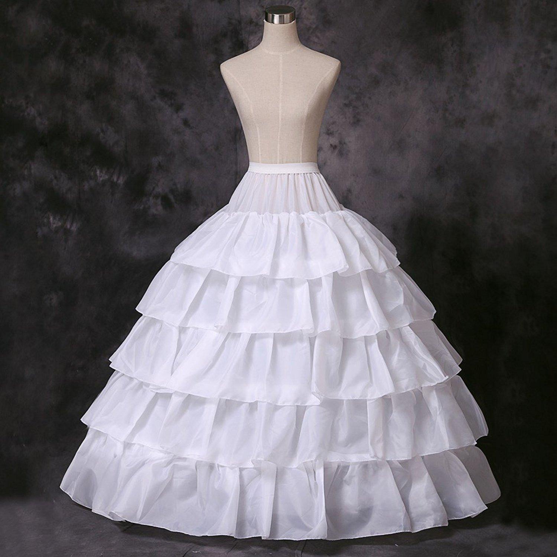 f408d7bcaccba Verabeauty Petticoat Skirt for Women Puffy Ball Gown Slip Crinoline  Underskirt Black at Amazon Women's Clothing store: