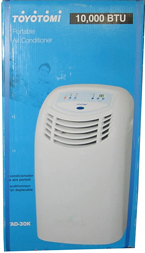Amazon.com: Toyotomi 10,000 BTU Portable Air Conditioner - WHITE AC: Home & Kitchen