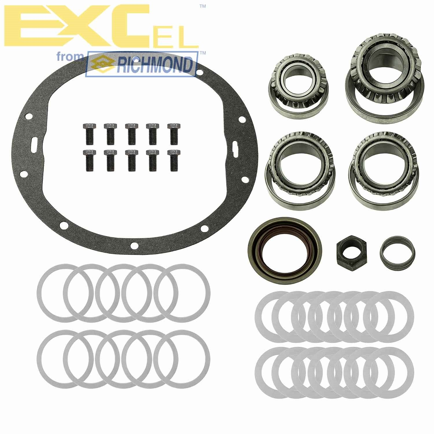 ExCel XL-1027-1 Ring and Pinion Install Kit (-GM 8.6' 10 Bolt), 1 Pack