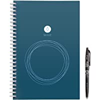 "Rocketbook Wave Smart Notebook - Dotted Grid Eco-Friendly Notebook with 1 Pilot Frixion Pen Included - Executive Size (6"" x 8.8"")"