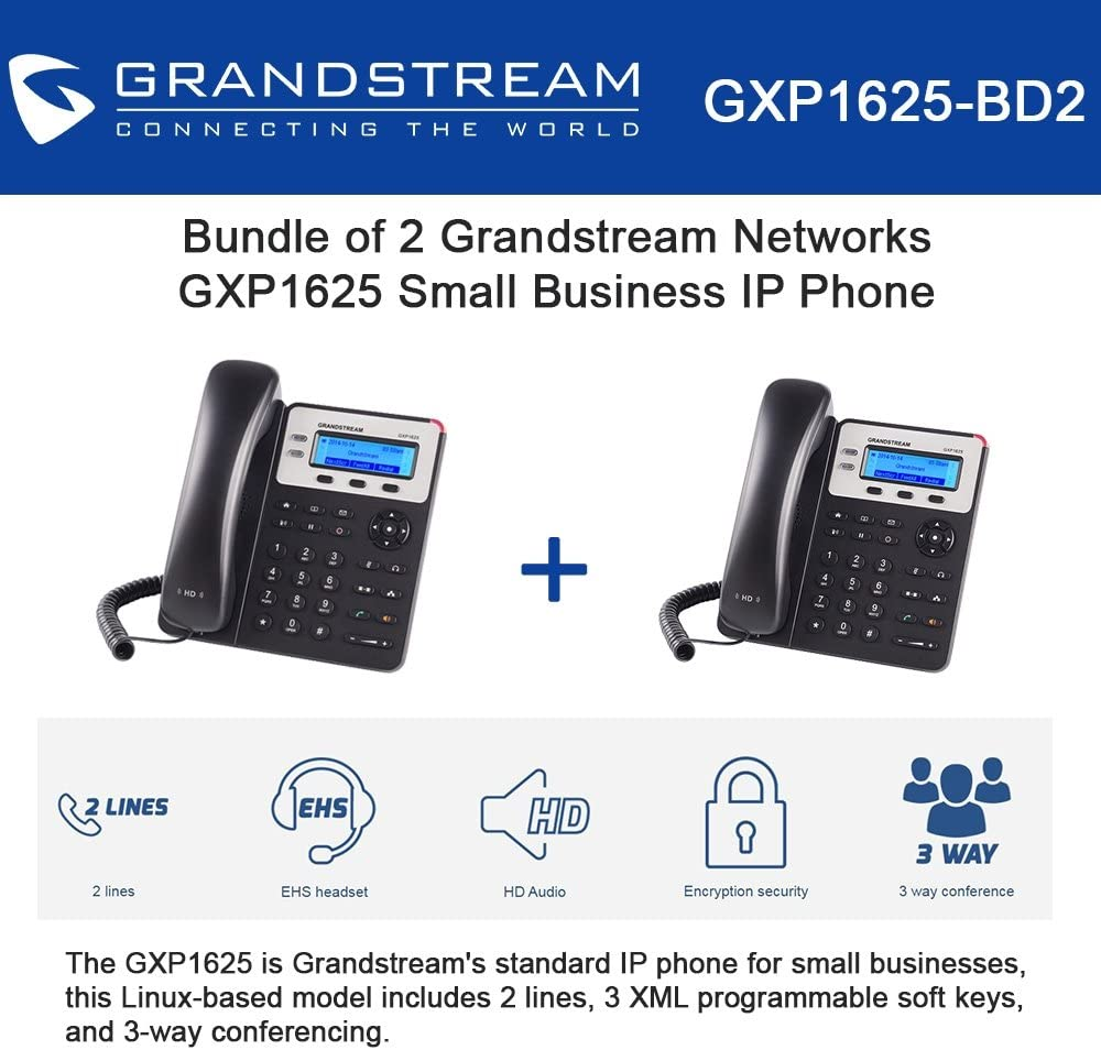 Small Business 2-line IP Phone Grandstream