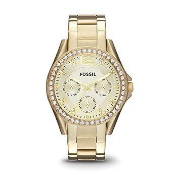 Damenuhren fossil gold  Fossil Damen-Uhren ES3203: Fossil: Amazon.de: Uhren