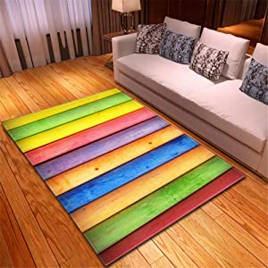 KFEKDT Modern Home Decoration Large 3D Rug Bedroom Rug Soft Solid Color Paint Pattern Area Living Room Rug No-4 120x200cm