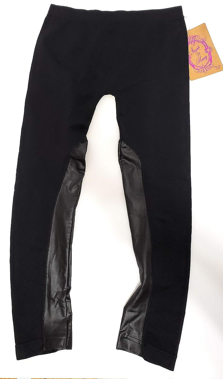 Sugar /& Honey Black Leggings Girls one Size 7-16