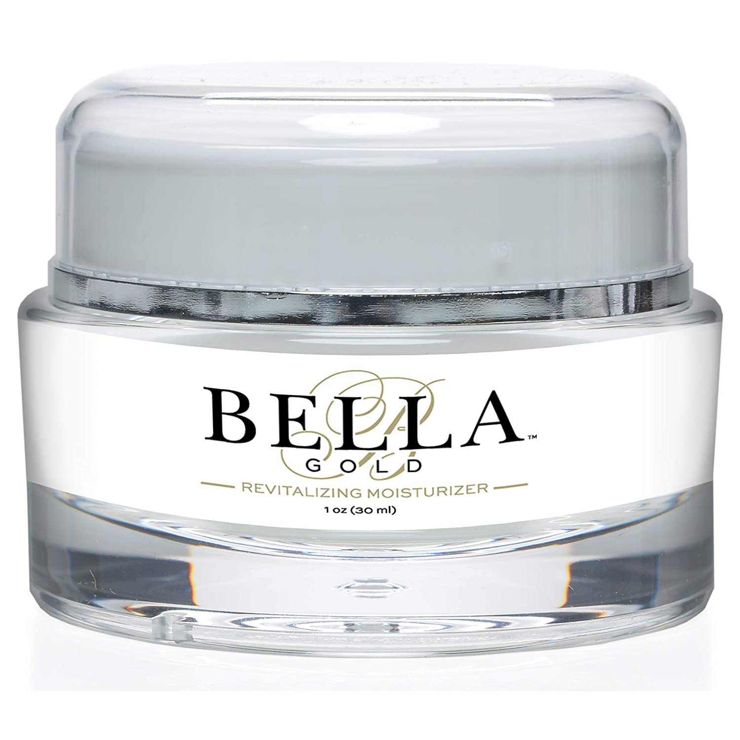 Bella Gold Revitalizing Moisturizer-Breakthrough Formula To Boost Collagen and Elastin.
