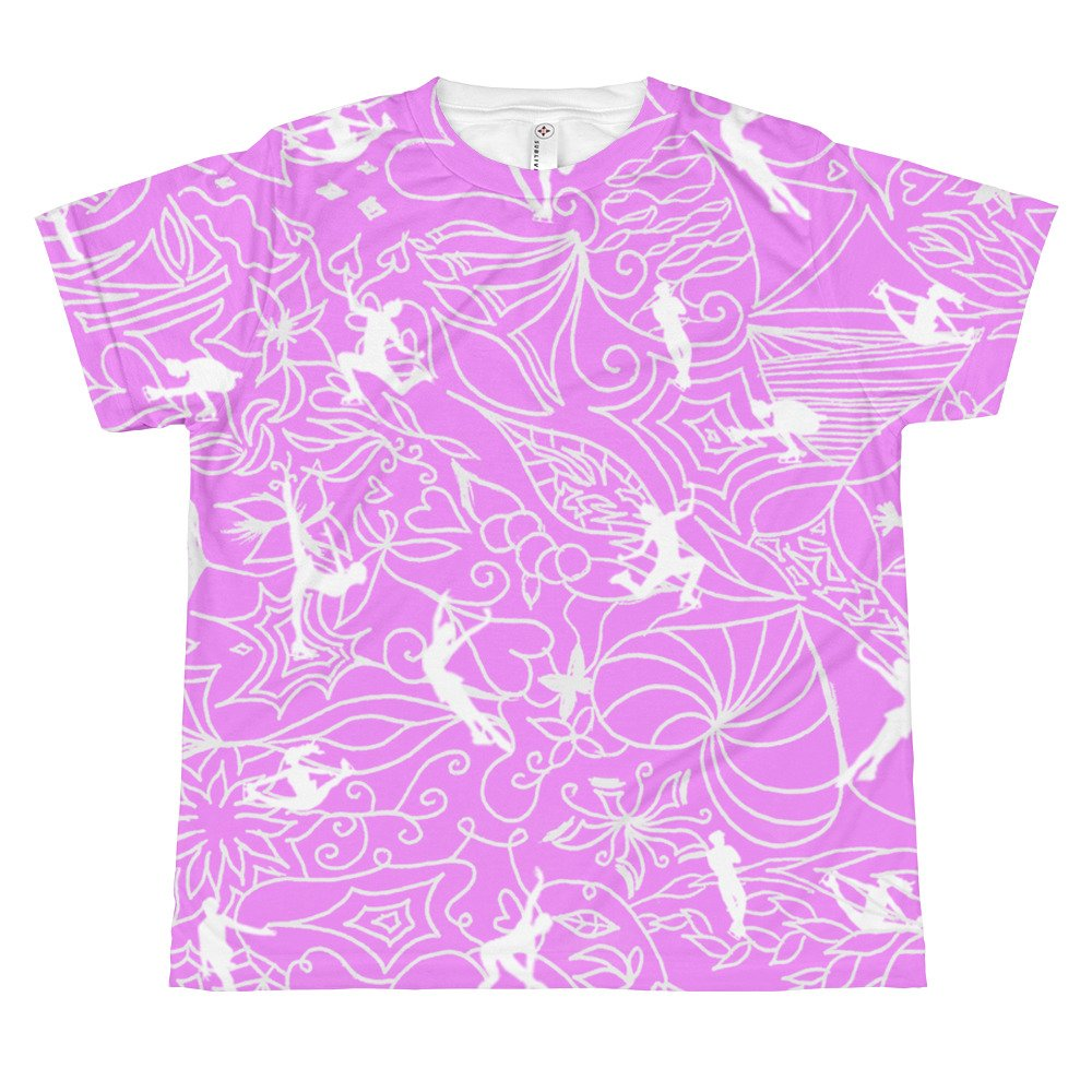 ColorFlow Classic Tee Lilac Pink Youth Sizes