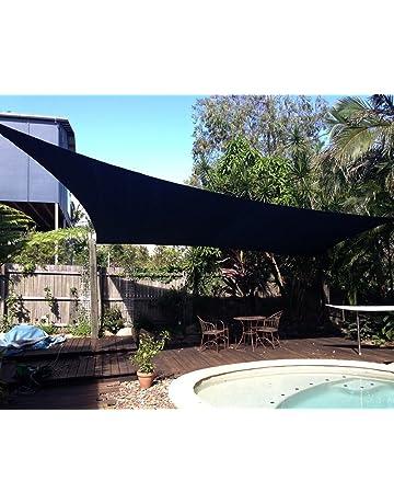 84697be2841 Shade Beyond Triangle Sun Shade Sail for Patio Lawn Deck Garden Pergola