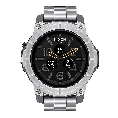 Nixon Reloj Analogico para Hombre de Digital con Correa en Acero Inoxidable A1216 130-00