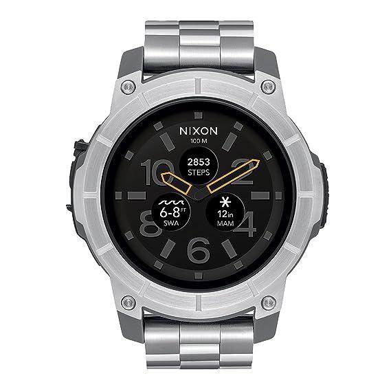 Nixon Reloj Analogico para Hombre de Digital con Correa en Acero Inoxidable A1216 130-00: Amazon.es: Relojes