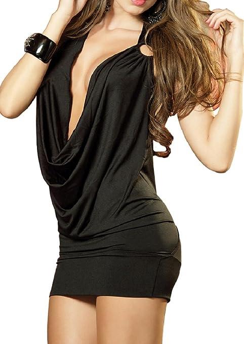25 opinioni per Paplan delle donne V profondo Halter della biancheria pannello esterno backless