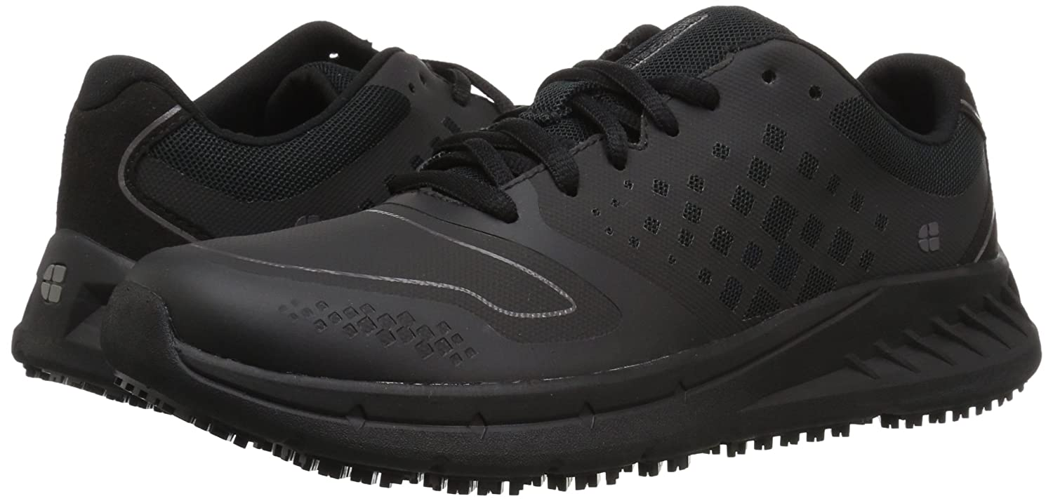 Shoes For Crews Women's Flair Slip Resistant Food Service Work Sneaker B07BHJR3PX 11 W US|Black