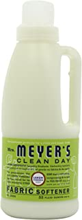 product image for Mrs. Meyer's Clean Day Liquid Fabric Softener, Made Without Parabens, Cruelty Free Formula, Lemon Verbena Scent, 32 oz- Pack of 6
