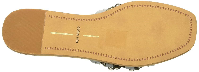Dolce Vita Women's Celita Slide Sandal B07B9J1KH6 9.5 B(M) US|Blue Leather