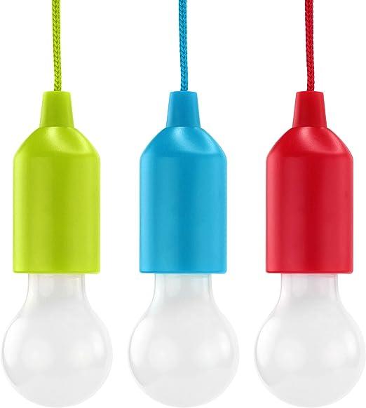 LED Leuchten Glühbirnen Kunststoff Gartenbeleuchtung Gartenlicht Licht  4er Set