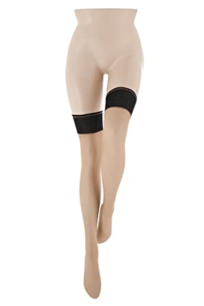 3729a5bb71d Le Bourget Women s Bas Retro 20 DEN Suspender Stockings Suspender Stockings