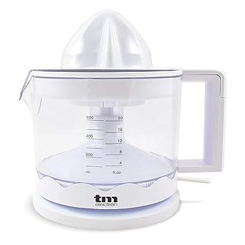 TM Electron TMPEX002 - Exprimidor de cítricos eléctrico para zumo con regulador de pulpa y fácil