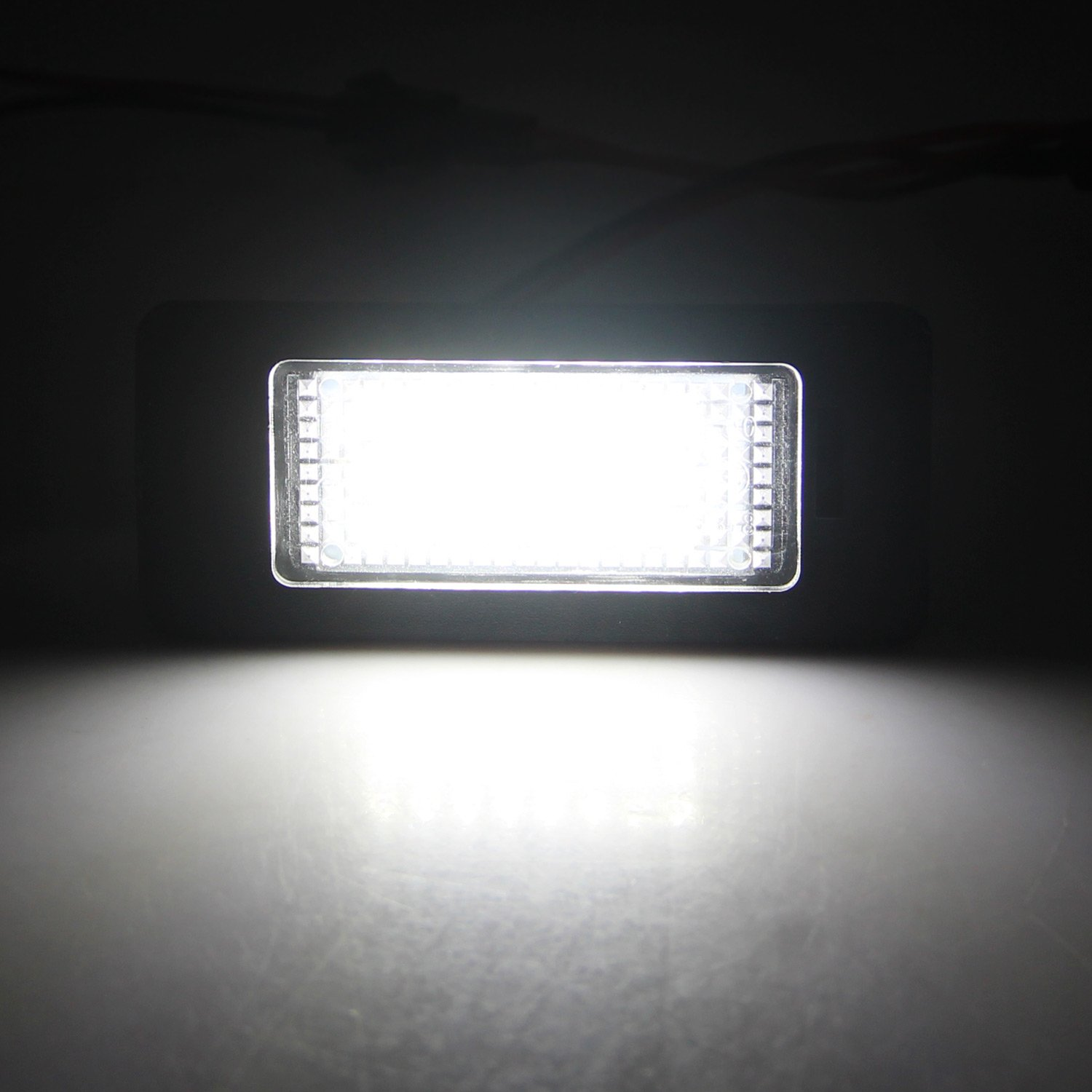 Win Power Xenon White LED License Plate Lights For CX-5 CX-7 Speed6 SY-085