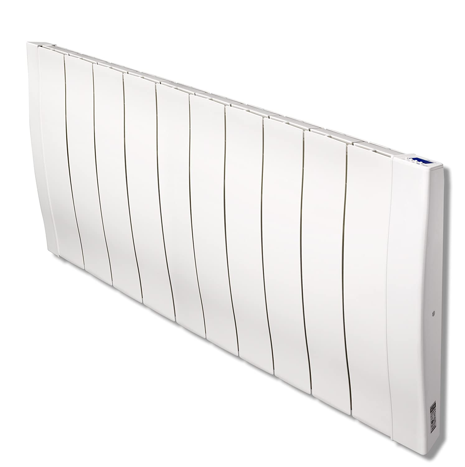 Slimline electric heaters wall mounted - Haverland Designer Rc Wave Rc11w 1700 Watt Slimline Energy Efficient Electric Radiators Wall Mounted With Timer And High Precision Thermostat Electric