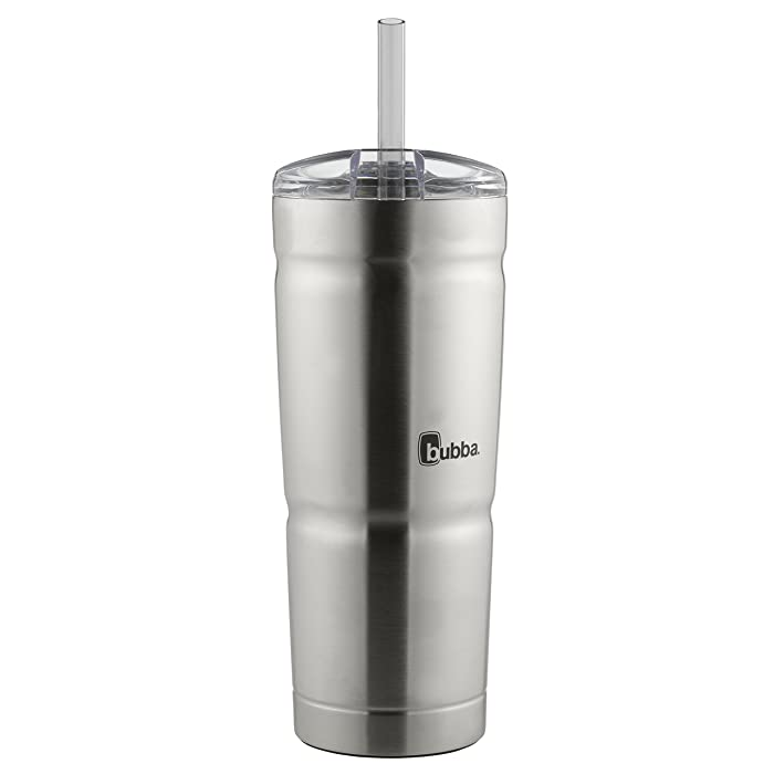 Bubba Envy S Vacuum-Insulated Stainless Steel Straw Tumbler, 24 oz. Smoke