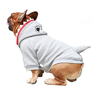 iChoue Animal Pet Costumes Dog Hoodie Warm Clothes