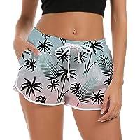 Freshhoodies Shorts de Baño Mujer 3D Bañador Short Deportes Secado Rápido Baño Pantalones Cortos de Natación con cordón…