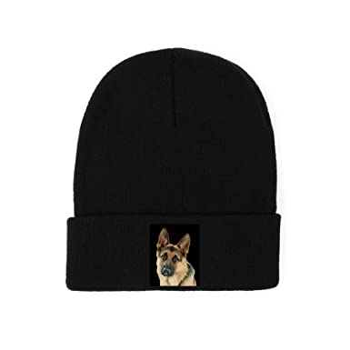 234a8b2bdf1 Image Unavailable. Image not available for. Colour  German Shepherd Beanie Woolly  Hat.
