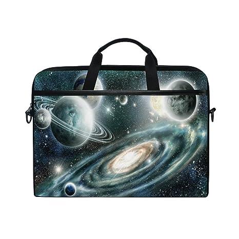 e044ae4190f7 Amazon.com: ALAZA Solar System Planet Spiral Galaxy 15 inch Laptop ...
