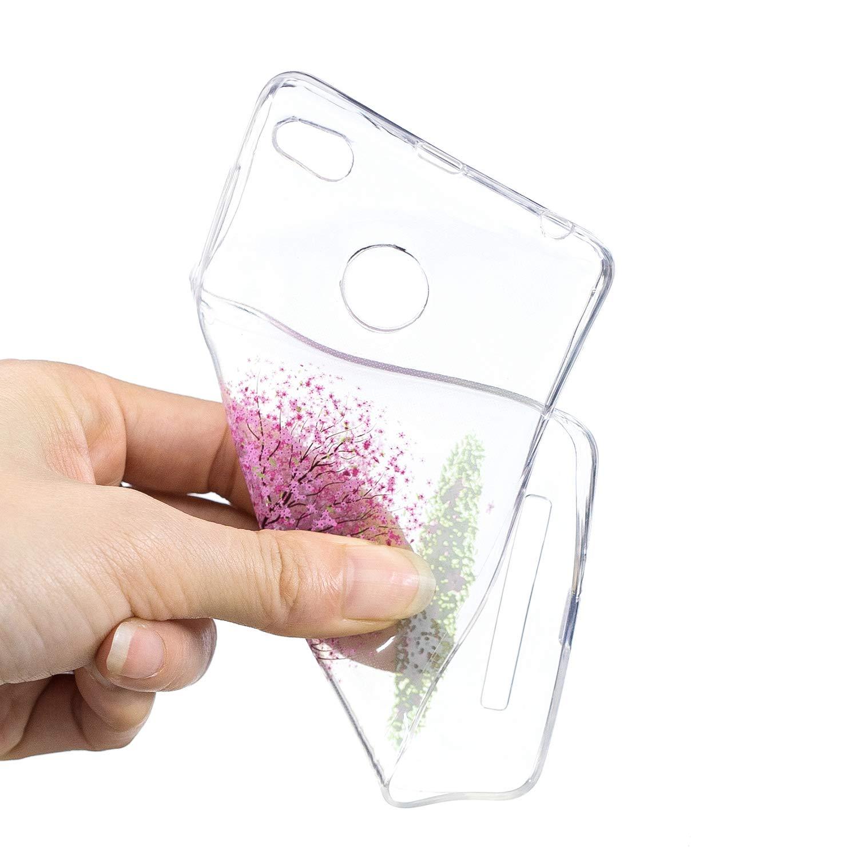 Ultra Fine Housse Etui de Protection Bumper Ultra L/éger pour Xiaomi Redmi 3S- BONROY Coque Transparente Silicone Gel TPU Souple Anti Choc Husky Sib/érien