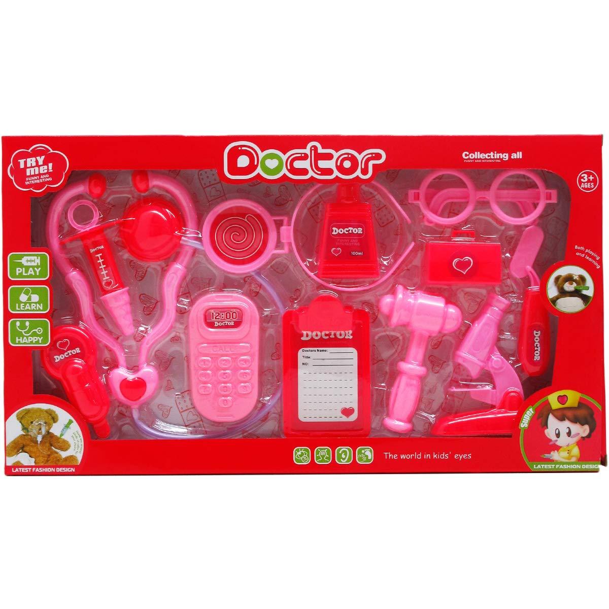 DDI 2322392 12 Piece Girls Doctor Play Set - Case of 24