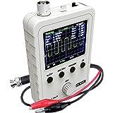 """Quimat 2.4""""TFT デジタル オシロスコープ(組立完成品) 0-200KHz 5mV/Div-20V/Div感度 プローブ付き 9V DC DSOオシロスコープ Q15001"""