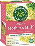 Traditional Medicinals Organic Mother's Milk Women's Tea (Pack of 1), Promotes Healthy Lactation for Breastfeeding Moms…