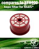 HEPA Filter for Shark Vacuum Cleaners (compares to XFH400). Fits: NV400, NV402. Genuine Green Label Product.