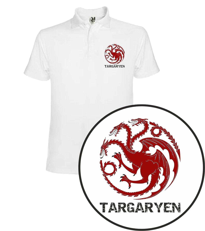 The Fan Tee Polo de Mujer Juego de Tronos Stark Tyrion Dragon ...