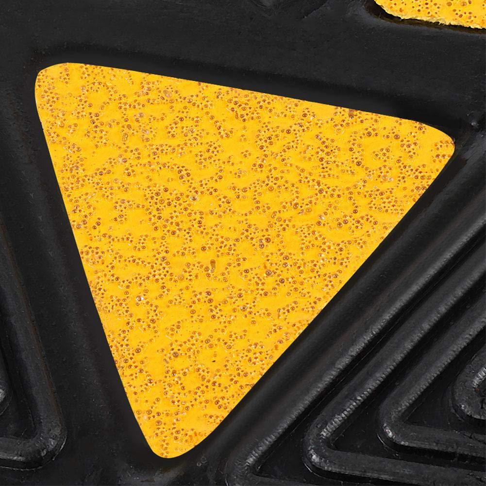 2 St/ücke Heavy Duty Gummi Bordsteinrampen Einfahrt Schwelle Rampe f/ür Auto Fahrzeug Motorrad Rollstuhl Zerone Gummi-Rampe