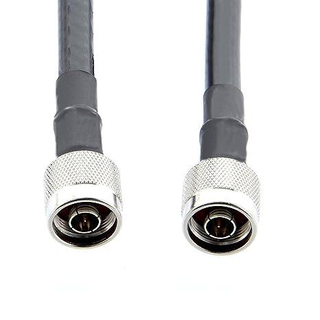 Shanhai LMR400-N-mache-to-N-mache-20 pies LMR-400 Cable ...