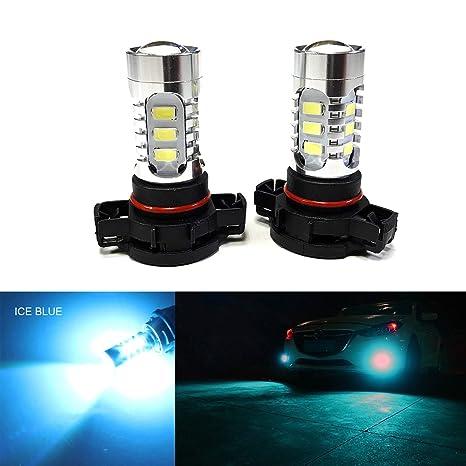 Amazon.com: SOCAL-LED 2 bombillas LED antiniebla 15 W SMD ...