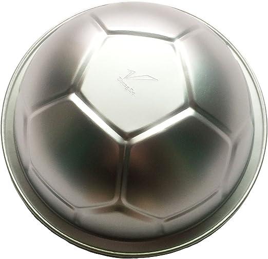 Grande Deportes Fútbol 3D Balón de torta en forma de molde hornear ...