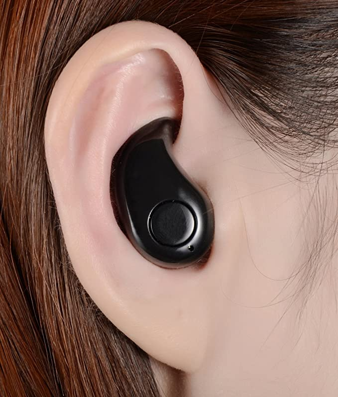 Amazon.com: Sangyn S530 Smallest Invisible Bluetooth Mini Earphone Wireless V4.1 Headphone Mini Earbuds With Mic In-ear (Black): Home Audio & Theater