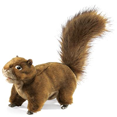 Folkmanis Red Squirrel Hand Puppet: Toys & Games