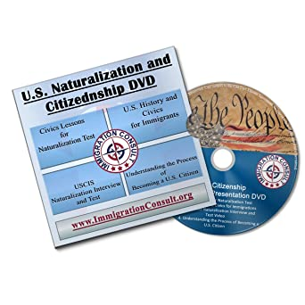 Amazon com: US Citizenship test on DVD: video study guide