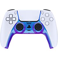 eXtremeRate Chameleon Purple Blue Decorative Trim Shell for DualSense 5 Controller, DIY Replacement Clip Shell for PS5…