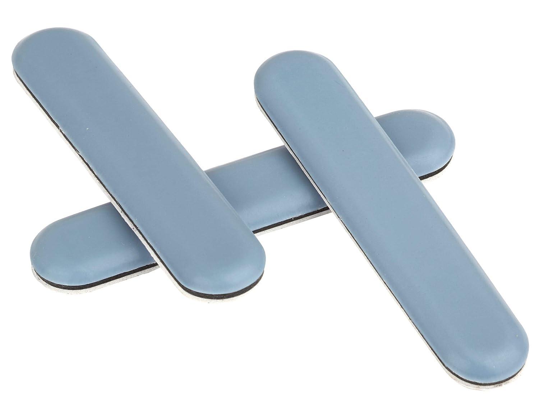 Lot de 16/patins/ rectangulaire autocollantes Meubles patins en qualit/é premium /PTFE/ Canap/é//de Chaise /| 75/x 15/mm