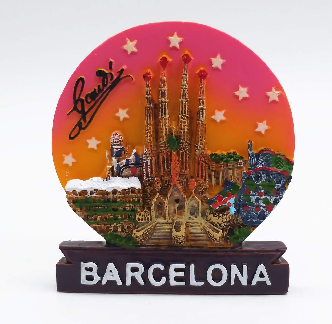 MUYU Magnet Sagrada Familia Catedral Barcelona España 3D imán de ...