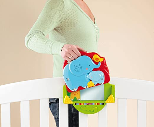 Fisher-Price Luv U Zoo Crib 'N Go Projector Soother