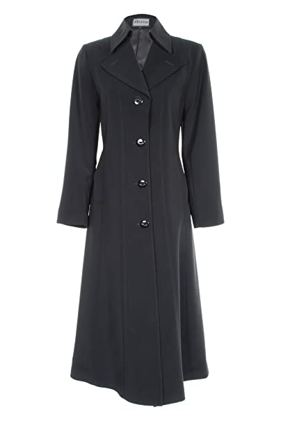 hot new products really cheap best wholesaler Busy Clothing Women Long Trench Coat Mac Black