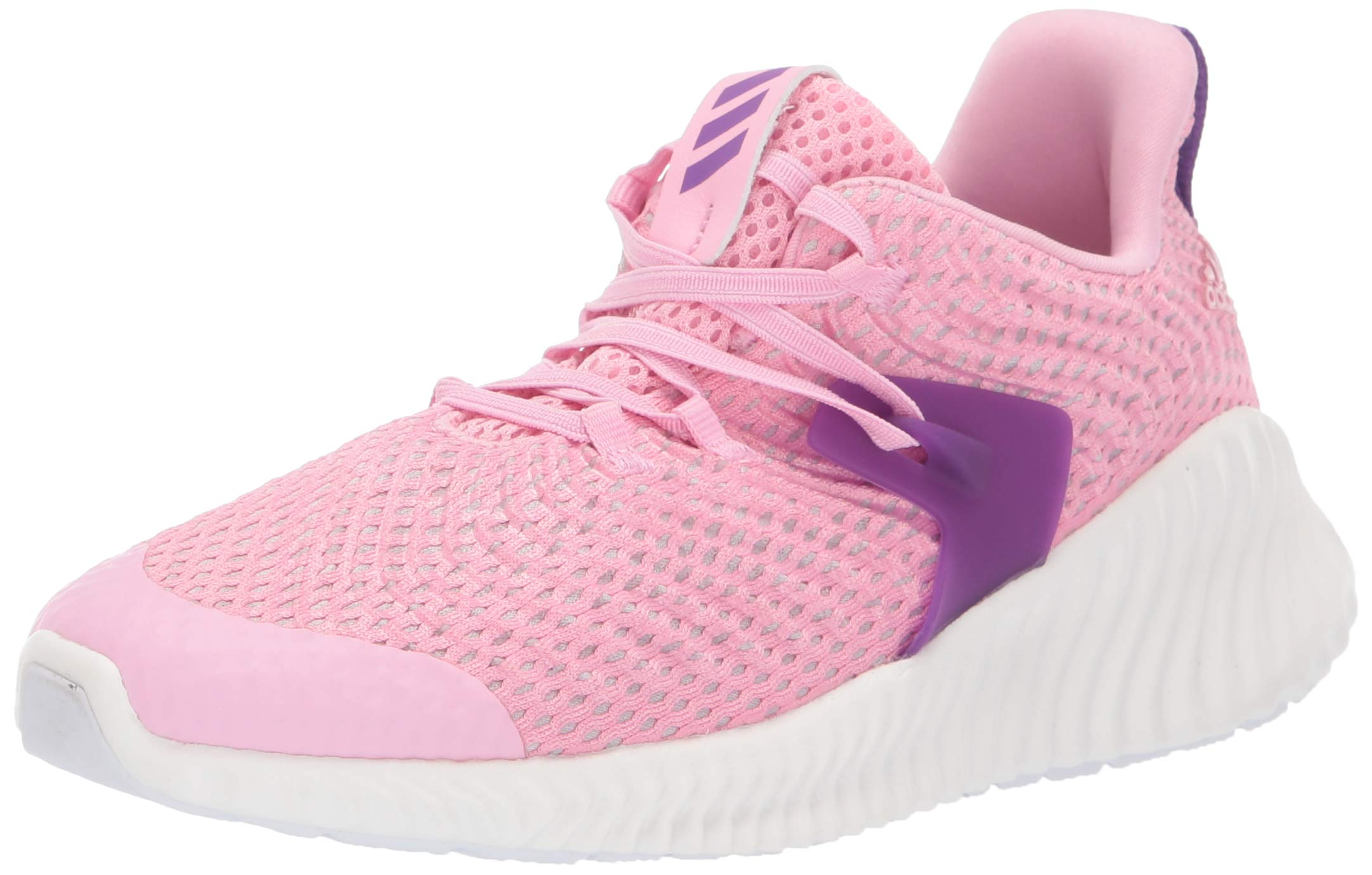 Adidas Kids Alphabounce Instinct, true pink/active purple/cloud white 3 M US Little Kid by adidas (Image #1)