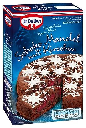 Dr Oetker Schoko Mandel Kuchen 350g Mit Kirschen Amazon De